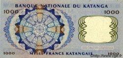 1000 Francs KATANGA  1962 P.14a SPL