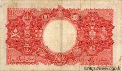 10 Dollars MALAISIE et BORNEO  1953 P.03a TB+