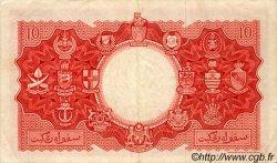 10 Dollars MALAISIE et BORNEO  1953 P.03a TTB+ à SUP