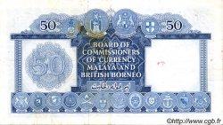 50 Dollars MALAISIE et BORNEO  1953 P.04a TTB