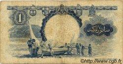 1 Dollar MALAISIE et BORNEO  1959 P.08a B+