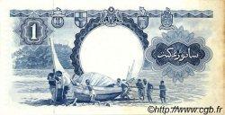 1 Dollar MALAISIE et BORNEO  1959 P.08a TTB+