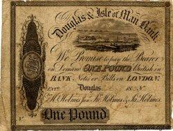 1 Pound ÎLE DE MAN  1870 P.-- B+