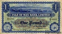 1 Pound ÎLE DE MAN  1953 P.06c TB