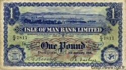 1 Pound ÎLE DE MAN  1956 P.06d TB
