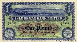 1 Pound ÎLE DE MAN  1958 P.06d SUP