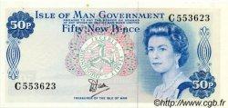 50 New Pence ÎLE DE MAN  1979 P.33a SPL