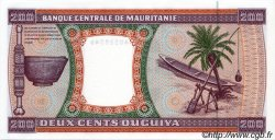 200 Ouguiya MAURITANIE  2002 P.05j NEUF