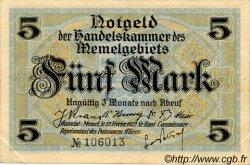 5 Mark MEMEL  1922 P.04b pr.SPL
