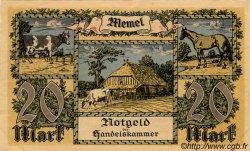 20 Mark MEMEL  1922 P.06b SUP+