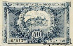 50 Centimes MONACO  1920 P.03a SUP à SPL