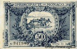 50 Centimes MONACO  1920 P.03a pr.TTB