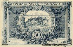 50 Centimes MONACO  1920 P.03rs pr.NEUF