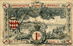1 Franc MONACO  1920 P.05