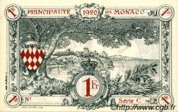 1 Franc MONACO  1920 P.05rs pr.NEUF