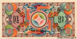 10 Dollars MONGOLIE  1924 P.05a pr.NEUF