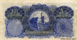 10 Pounds PALESTINE  1939 P.09c TTB