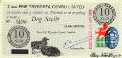 10 Swllt - 10 Shillings PAYS DE GALLES  1969 P.-- pr.NEUF