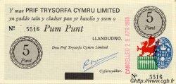 5 Punt PAYS DE GALLES  1969 P.-- NEUF