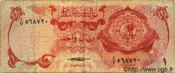 1 Riyal QATAR  1973 P.01a B