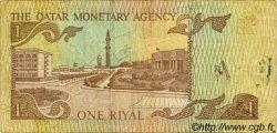 1 Riyal QATAR  1980 P.07 TB