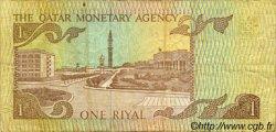 1 Riyal QATAR  1980 P.07 pr.TTB