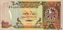 1 Riyal QATAR  1980 P.07 TTB+