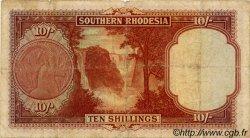10 Shillings RHODÉSIE DU SUD  1948 P.09d B