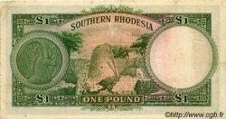 1 Pound RHODÉSIE DU SUD  1948 P.10d TB+