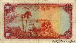 10 Shillings RHODÉSIE ET NYASSALAND  1958 P.20a TB