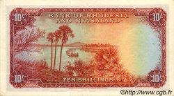 10 Shillings RHODÉSIE ET NYASSALAND  1961 P.20b SUP+