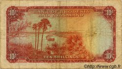10 Shillings RHODÉSIE ET NYASSALAND  1961 P.20b B+