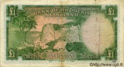 1 Pound RHODÉSIE ET NYASSALAND  1960 P.21a TB