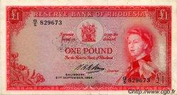 1 Pound RHODÉSIE  1964 P.25 TTB+