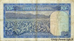 10 Shillings RHODÉSIE  1966 P.27a TB