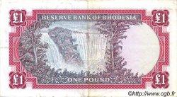 1 Pound RHODÉSIE  1967 P.28a TTB