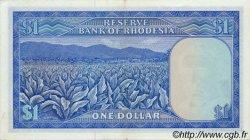 1 Dollar RHODÉSIE  1974 P.30b SUP+