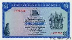 1 Dollar RHODÉSIE  1974 P.30b NEUF