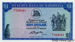 1 Dollar RHODÉSIE  1978 P.30b NEUF