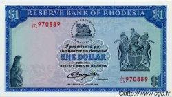 1 Dollar RHODÉSIE  1979 P.30c NEUF