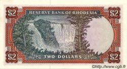 2 Dollars RHODÉSIE  1977 P.31b SPL