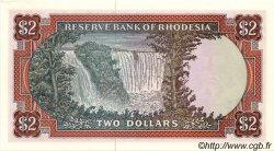 2 Dollars RHODÉSIE  1977 P.31b