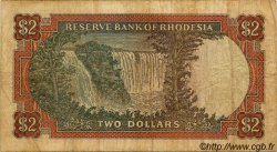 2 Dollars RHODÉSIE  1979 P.31d B+