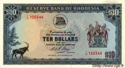 10 Dollars RHODÉSIE  1973 P.33b pr.NEUF