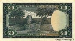 10 Dollars RHODÉSIE  1973 P.33b SUP