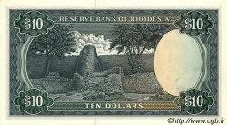 10 Dollars RHODÉSIE  1976 P.37a pr.NEUF