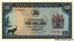 10 Dollars RHODÉSIE  1979 P.33c NEUF