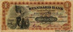 1 Pound RHODÉSIE  1932 PS.147 pr.TB