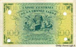100 Francs SAINT PIERRE ET MIQUELON  1943 P.13 TTB+