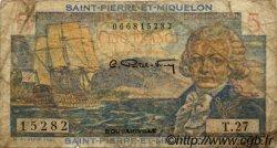 5 Francs Bougainville SAINT PIERRE ET MIQUELON  1946 P.22 B